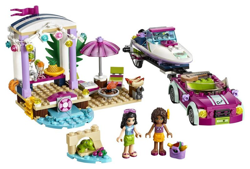 LEGO Friends Andrea's Speedboat Transporter (41316)