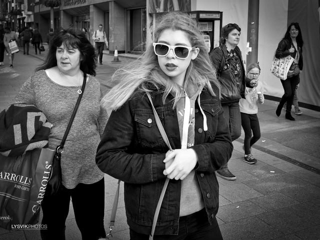 Street scene Dublin