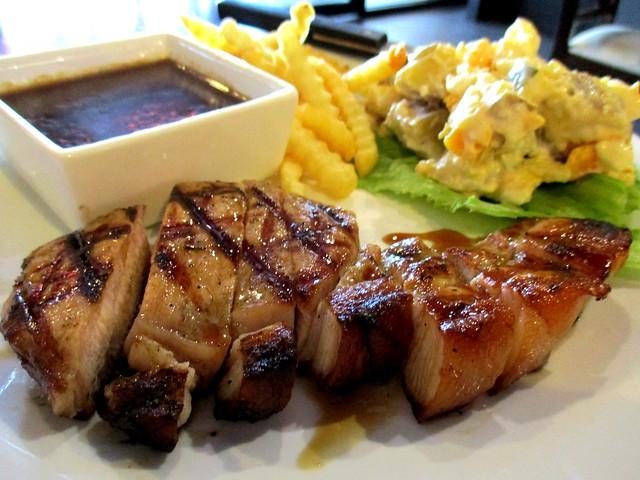 Bistecca & Bistro char-grilled pork chop