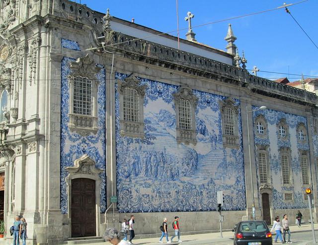 Tiled Church Wall, Porto