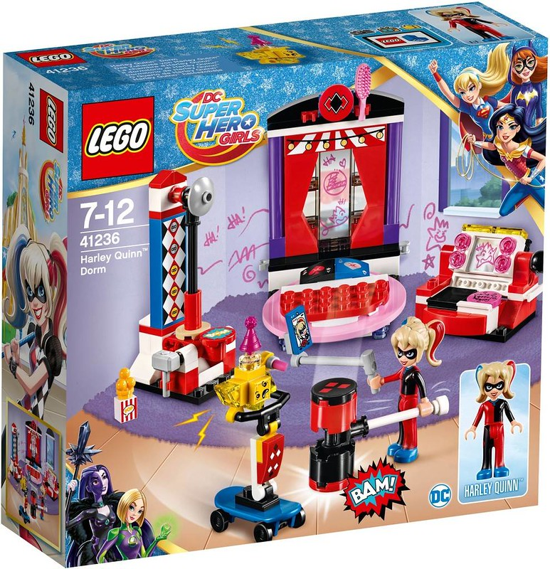 LEGO DC Super Heroes Girls Estate 2017 - Harley Quinn Dorm (41236)