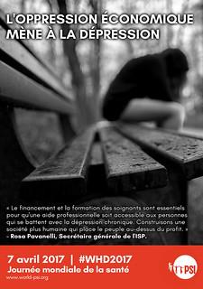 L'oppression mène à la dépression
