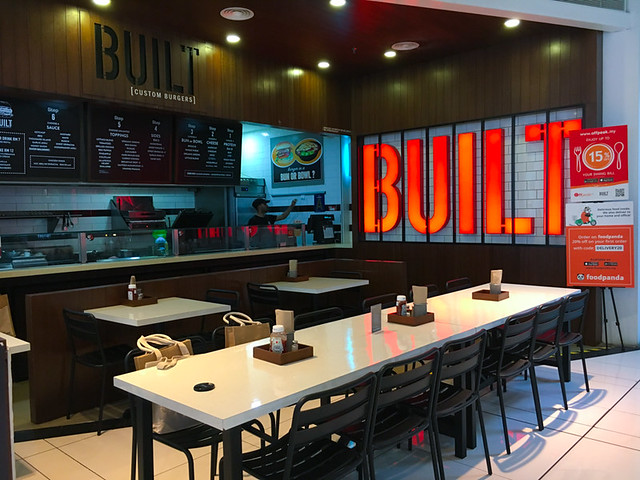 Built Custom Burgers at Nu Sentral KL