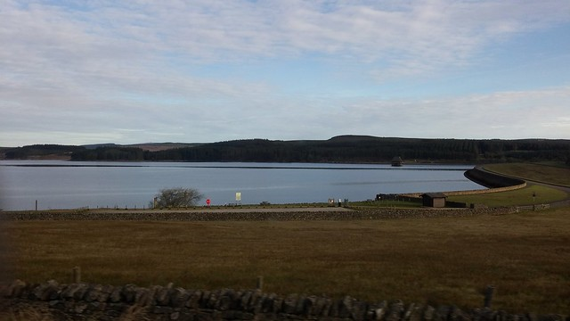 Luckily all the water in the right places in Kielder