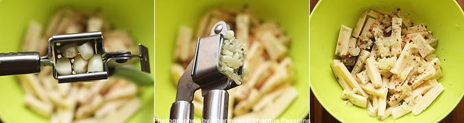 How to make Baked sweet potato fries recipe - Step3