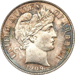 1909 Barber coin