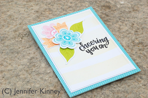 Jennifer Kinney. Cheering You On. InspByAllTheLittleThings Challenge - 2