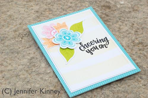 Jennifer Kinney. Cheering You On. InspByAllTheLittleThings Challenge - 2