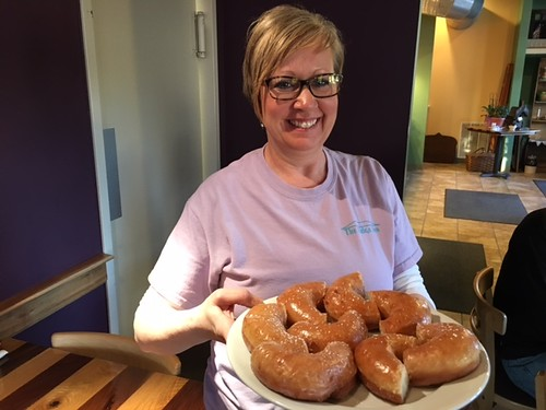 Donuts at The Ridge Inn. From 7 Family-Friendly Food Spots in and Around Hocking Hills, Ohio