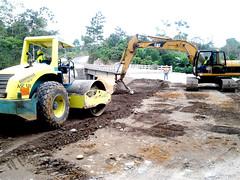 Avanzan los trabajos de anillo vial rural en Santo Domingo