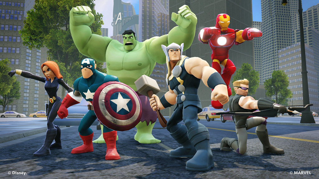 Disney Infinity 2.0 Marvel Super Heroes - Avengers Playset ...