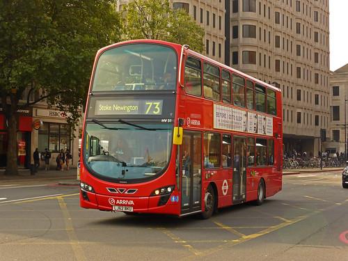 Arriva Hv51 Arriva Hv51 At Kings Cross 19th September