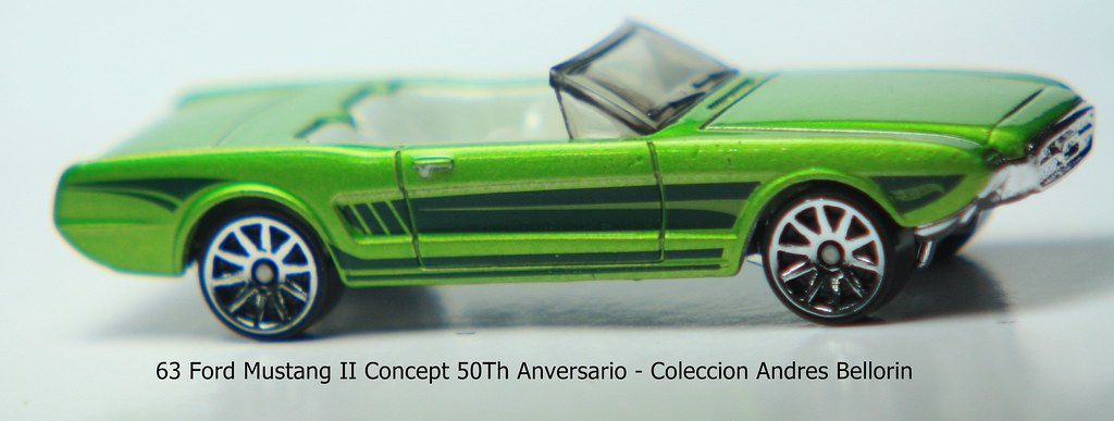63 Ford Mustang Ii Concept 50th Anversario Andres