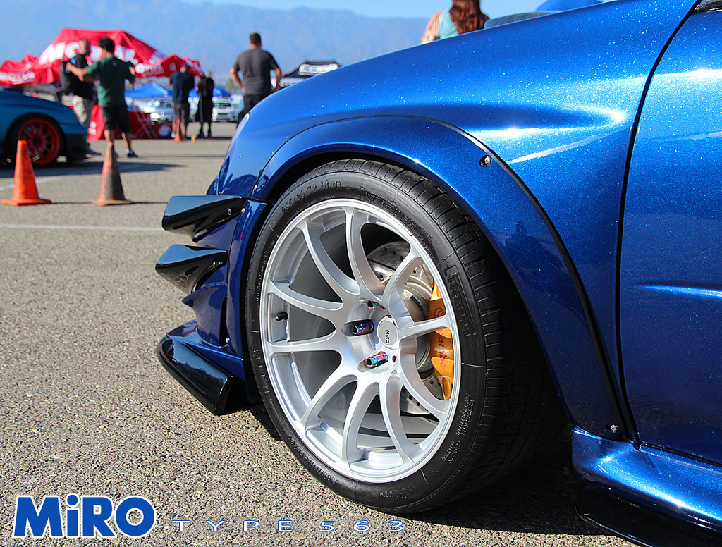 Subaru Sti Miro Type 563 Miro Wheels Flickr