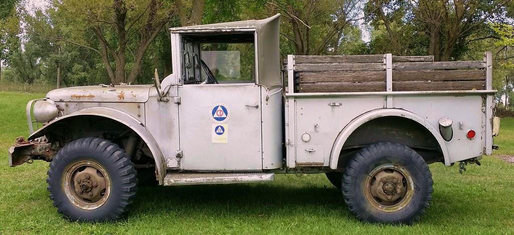 1953 m37 dodge military 3 4 ton truck for sale on ebay. Black Bedroom Furniture Sets. Home Design Ideas