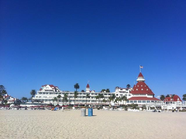 Hotel Del Coronado in Sunny San Diego