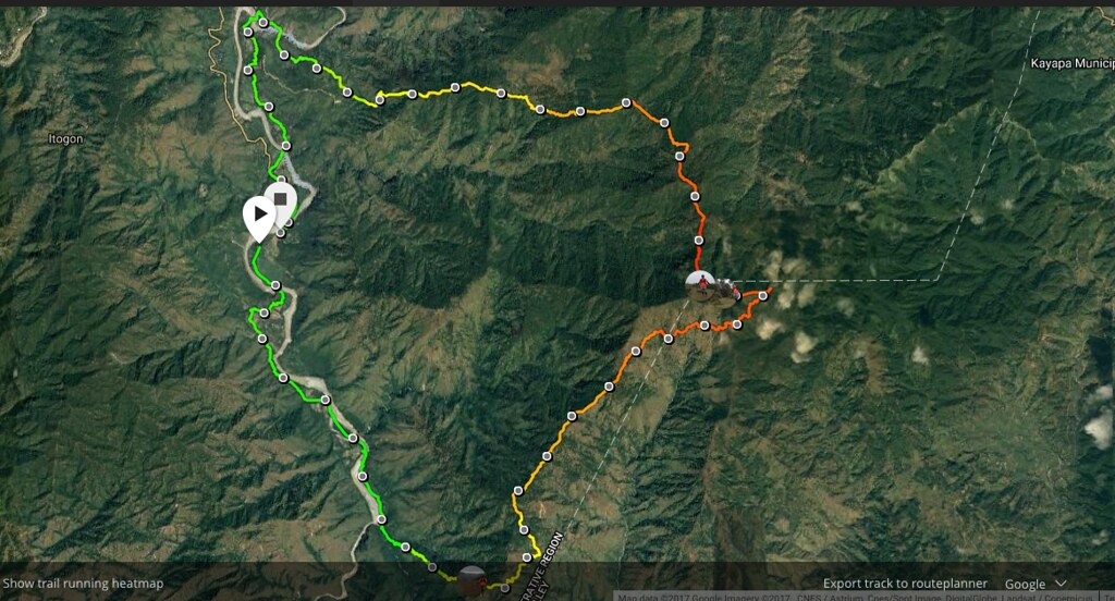 Race Route and Elevation Profile