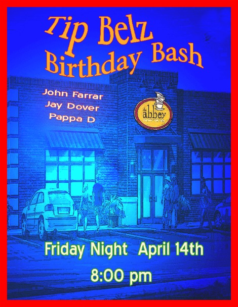 Tip Belz Birthday Bash 4-14-17