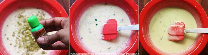 How to make Pista icecream recipe - Step4