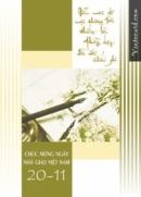 Thơ chúc mừng ngày 20/11 - Tuyển tập bài thơ hay nhất về thầy cô P1