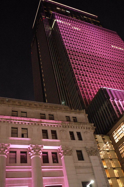 Nihonbashi Sakura light up 01