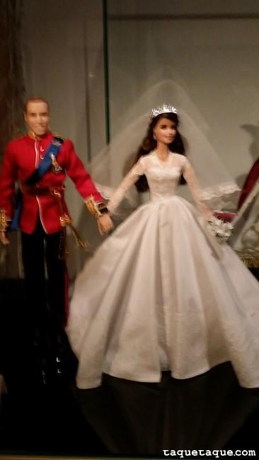 Los príncipes Guillermo y Catalina