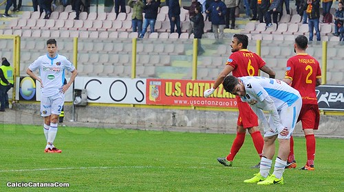 Catanzaro-Catania 2-1: Discesa libera$