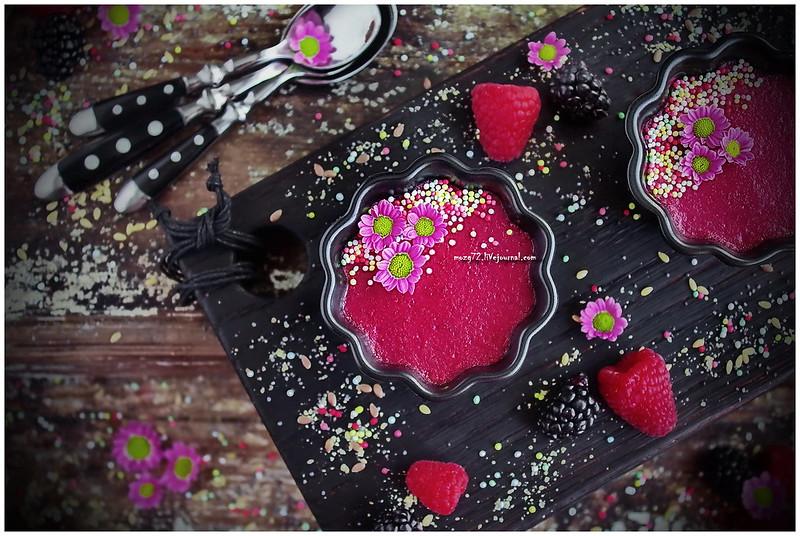 ...flax milk rice pudding with raspberries