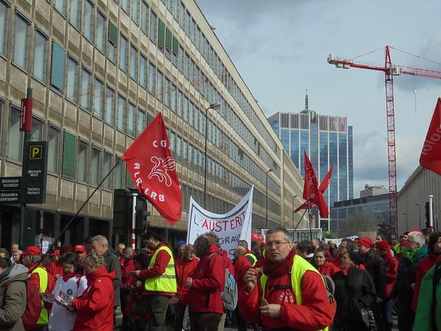 Manif des soins de santé - 21 mars 2017 - Bruxelles