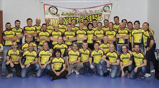Il team 2017 dell'Asd Maximabike Mtb