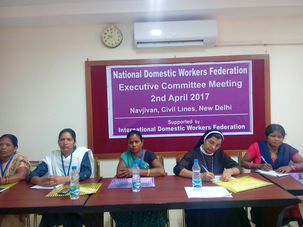 2017-4-2 India: NDWF Executive Committee Meeting