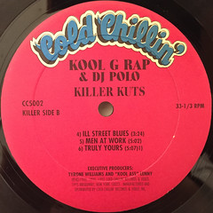 KOOL G RAP & DJ POLO:KILLER KUTS(LABEL SIDE-B)