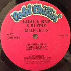 KOOL G RAP & DJ POLO:KILLER KUTS(LABEL SIDE-B)