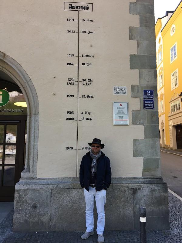 Autoloma Tonava | Passau | Bratislava Passau oli Saksan pahimpia tulva-alueita 2013. Vedenpinta nousi silloin lähes 13 metriin eli korkeimmalle sitten vuoden 1501.