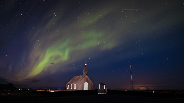 Northern lights - Budir, Iceland - Travel photography