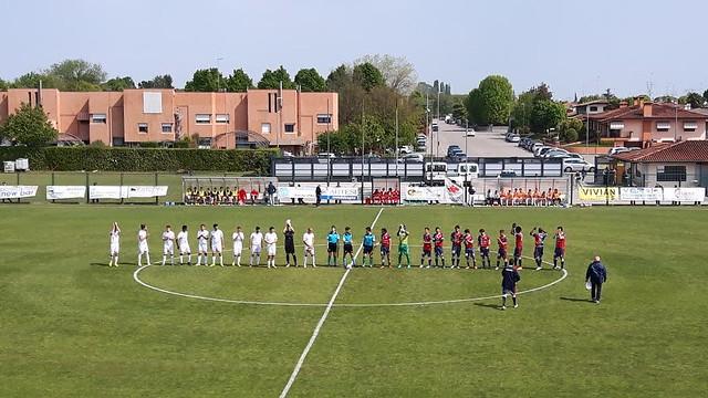 Tamai - Virtus Verona 1-3: il tris rossoblu vale i Play Off!