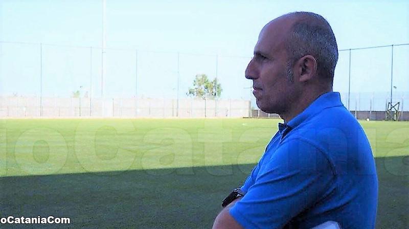 Mister Peppe Scuto, allenatore del Catania Calcio Femminile