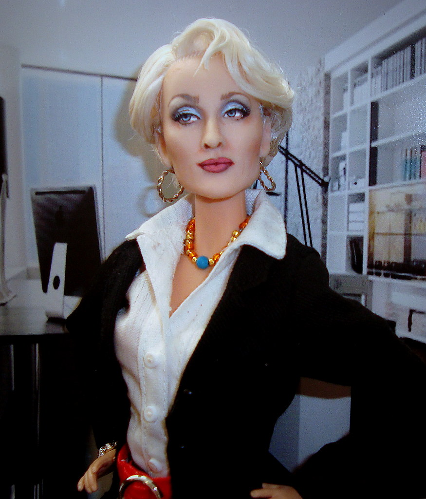 Meryl Streep The Devil Wears Prada Doll By Cyguy Dolls