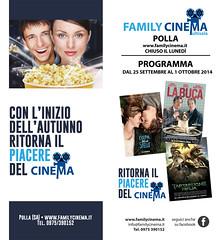 family cinema 25 sett 1 ott