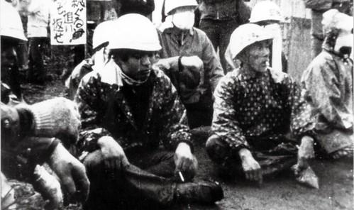 4、50年前日本三里塚老農為了抵擋政府強徵土地的影像,10月將在台北播出。圖片來源:TIDF台灣國際紀錄片影展官網。