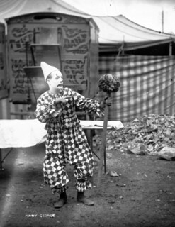 Duffy's Circus, 'Funny George', the Clown | by Public Record Office of Northern Ireland