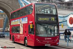 Alexander Dennis Trident Enviro 400 - LJ60 AUE - T178 - Arriva - Tower Bridge London - 140923 - Steven Gray - IMG_9523