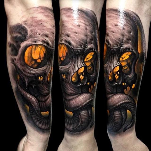 Realism Cross Tattoo Designs