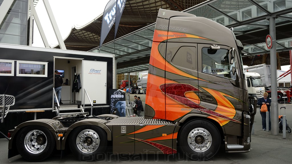 Iaa Hannover 2014 Trux Volvo Fh Gl04 Gt Guldager