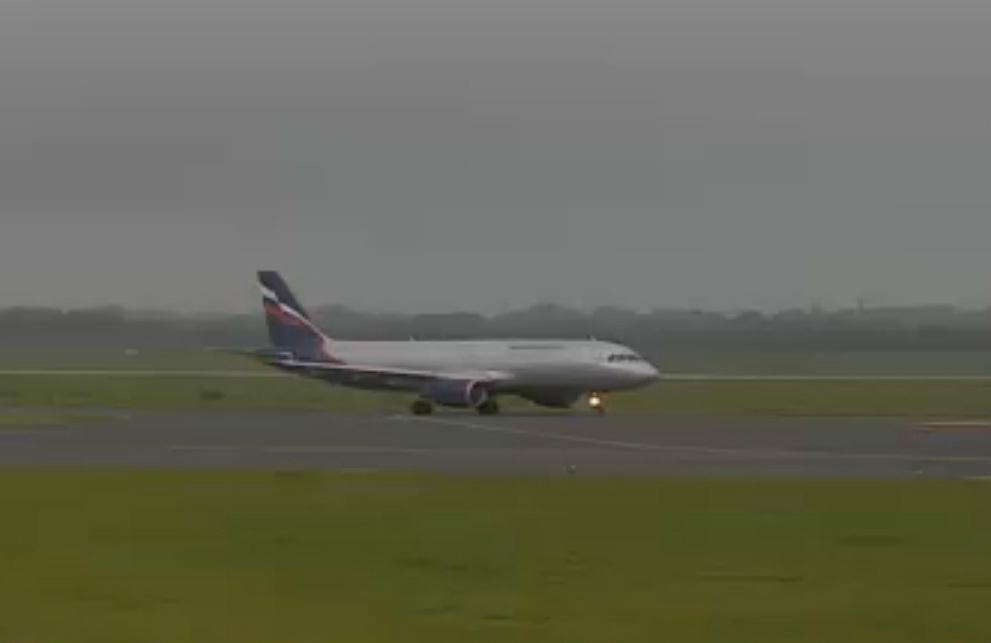Düsseldorf airport webcam