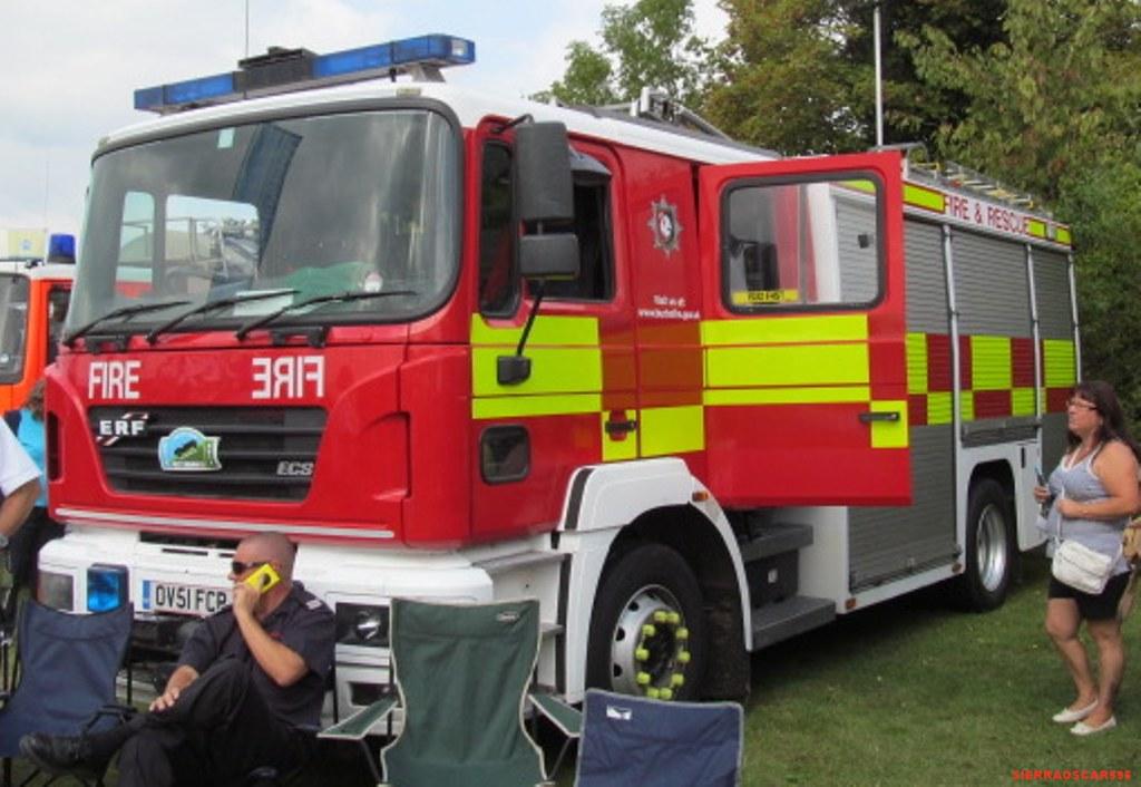 Buckinghamshire Fire And Rescue Service Erf Rescue Applian