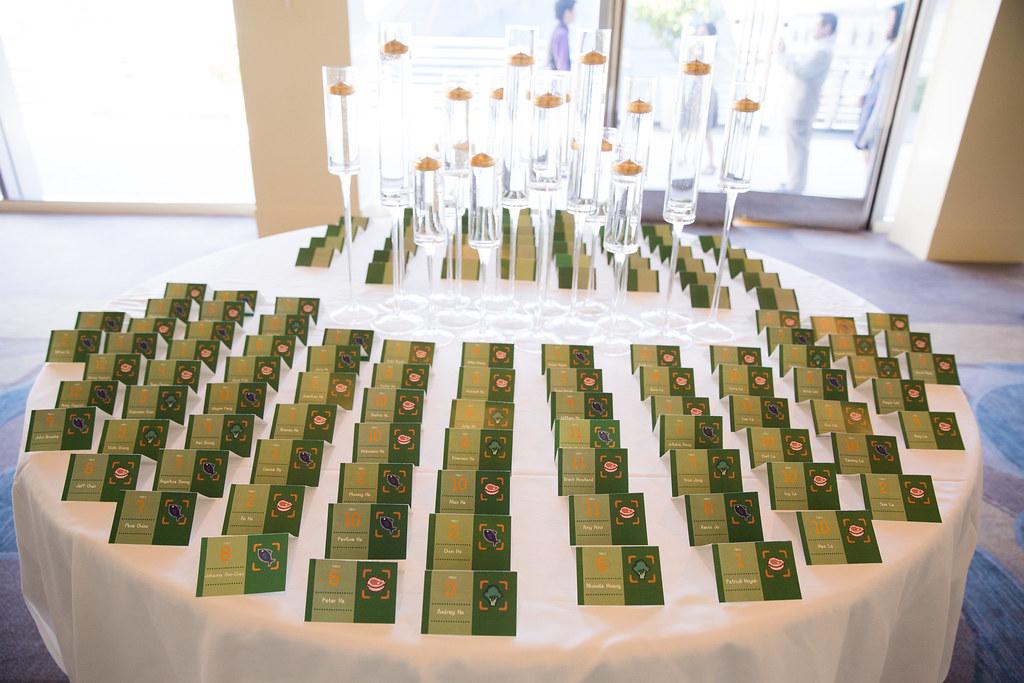 8 Bit Green Placecards