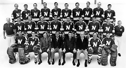 1969-70 Minnesota North Stars team