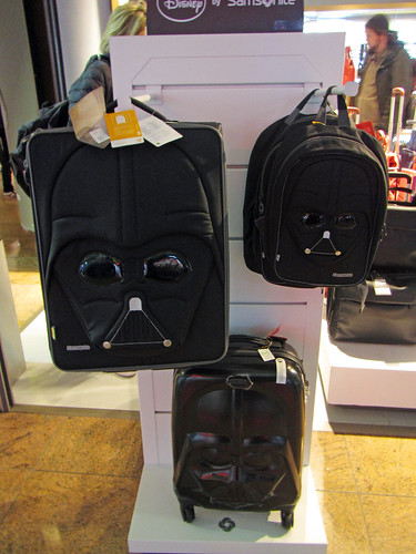 Not gonna lie, I do love this Vader luggage series