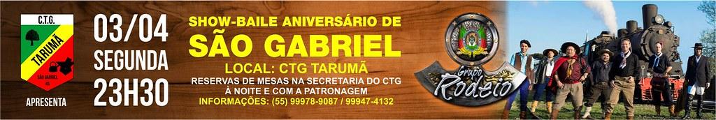 Baile de Aniversário São Gabriel - CTG Tarumã